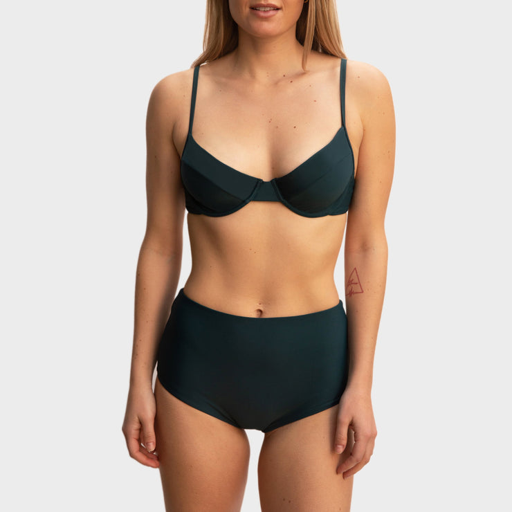Bianca Top Jungle Green