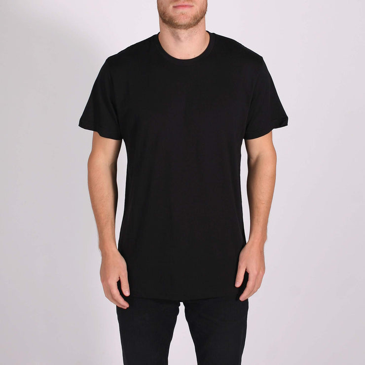 Premium Blank T-Shirt 3 Pack Black