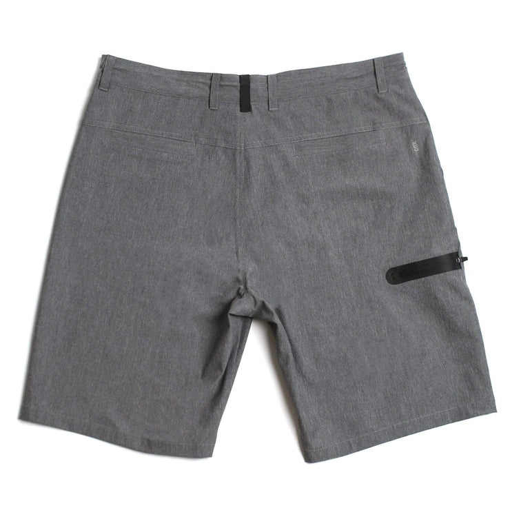 Carbon Hybrid Walkshort Grey Melange