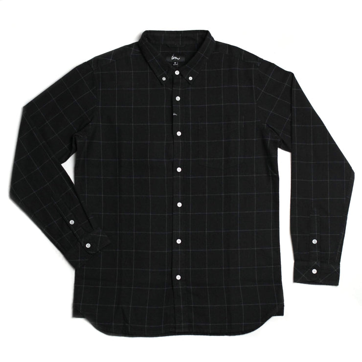 Claxton Flannel Black