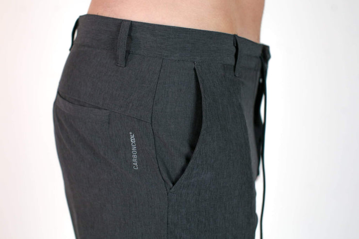 Carbon Hybrid Walkshort Double Black