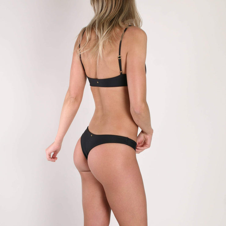 Darlene Mini Bottom Black