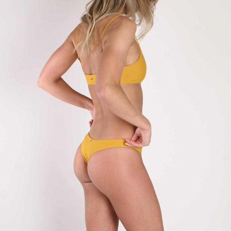 Darlene Mini Bottom Mustard