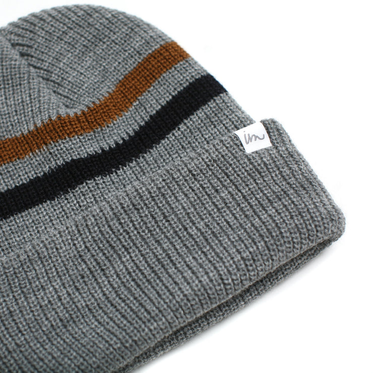 Caster Beanie Grey Heather