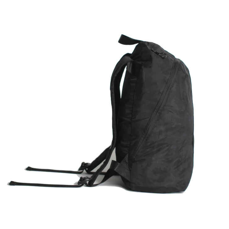 Convoy Ghost Reflective Packable Backpack Black Camo