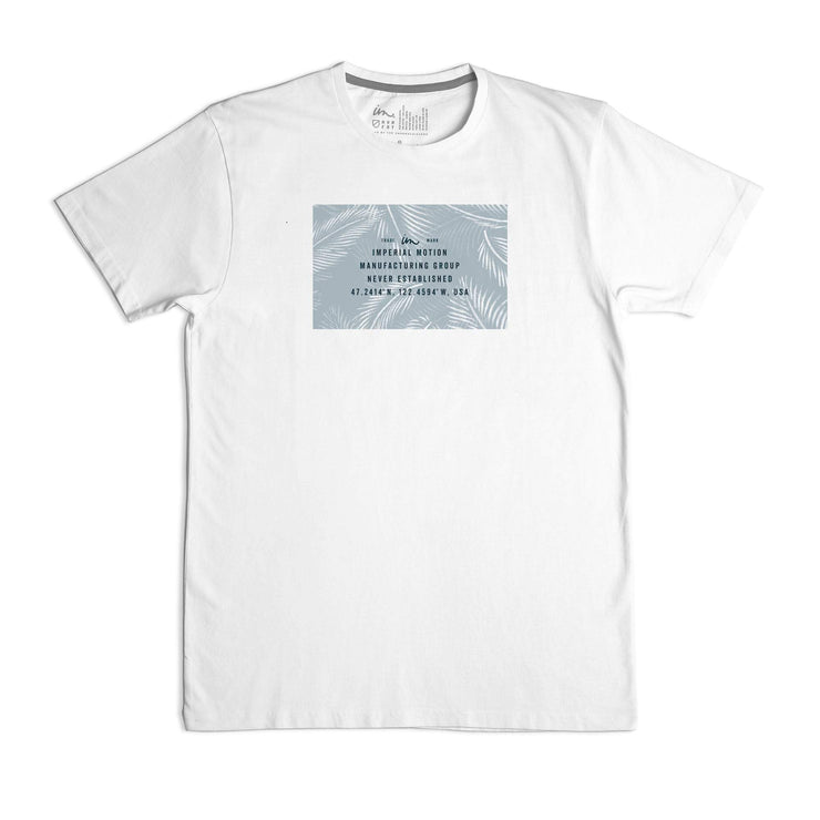 Coordinate Palms Premium T-Shirt White