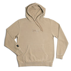 Curser Pigment Dyed Hoodie Sandstone Pigment