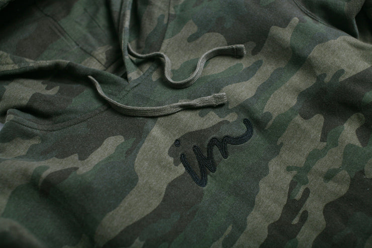 Curser Pigment Dyed Hoodie Camo