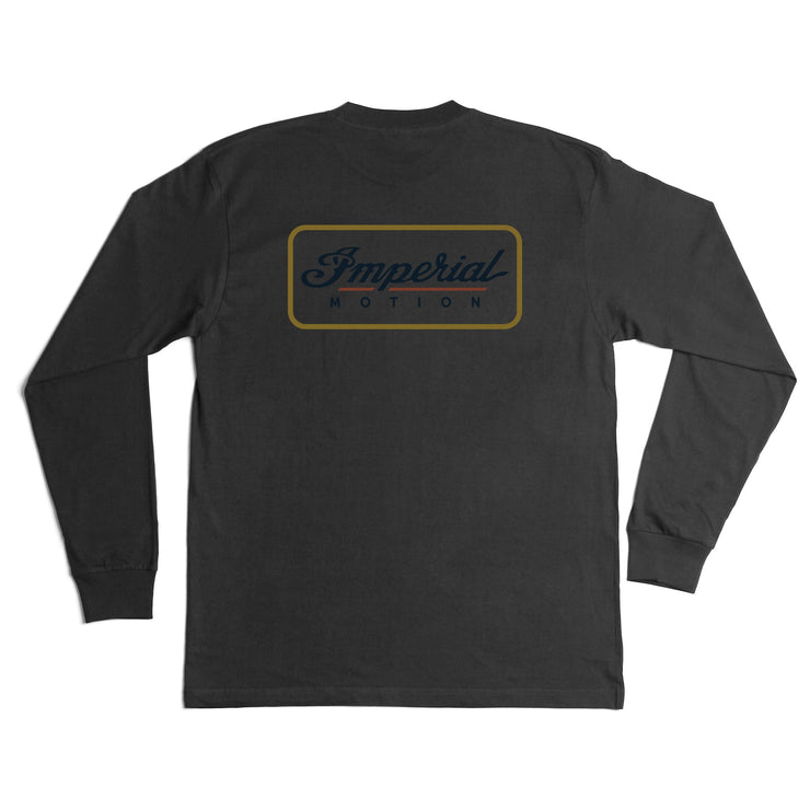 Customs Premium LS T-Shirt Black