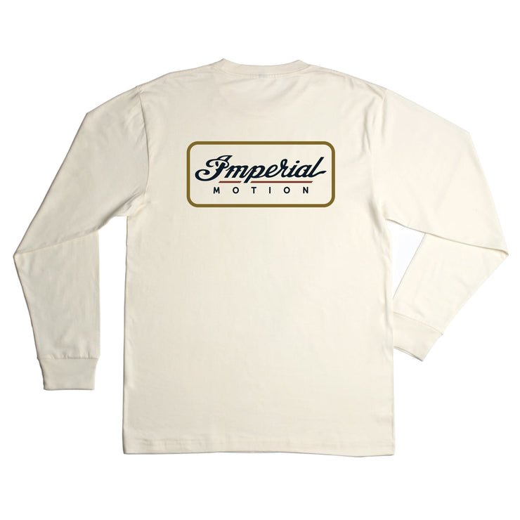 Customs Premium LS T-Shirt Creme