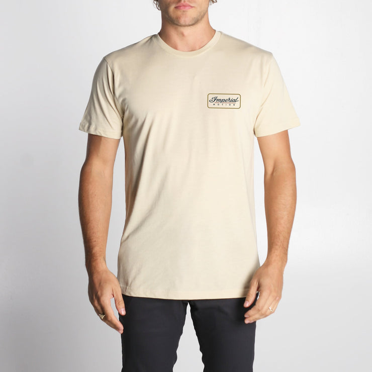 Customs Premium T-Shirt Crème