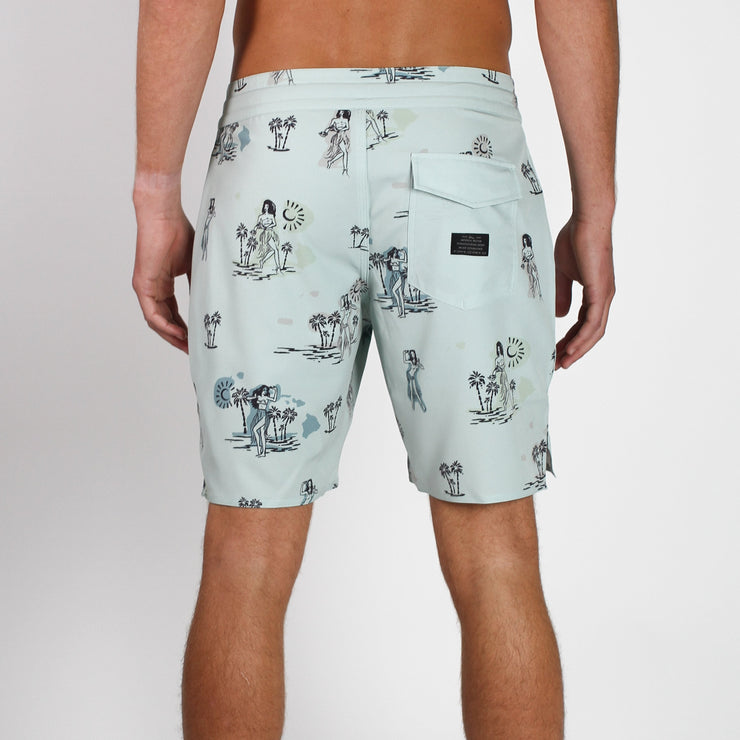 Decade Boardshort Mint