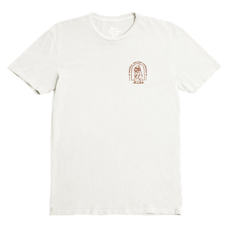 Diver Premium Pigment T-Shirt Antique White Pigment