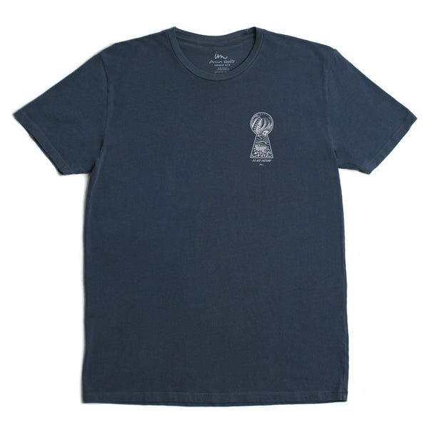 Do Not Disturb Premium Pigment T-Shirt Denim Pigment
