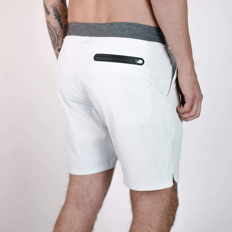 Everything Boardshort White Melange