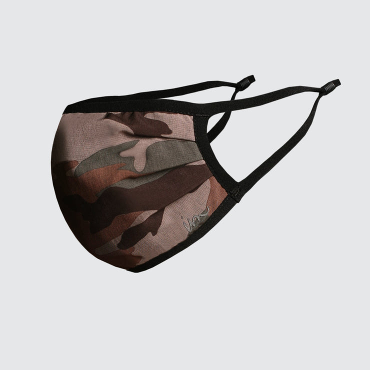 Everything Face Mask Woodland Camo