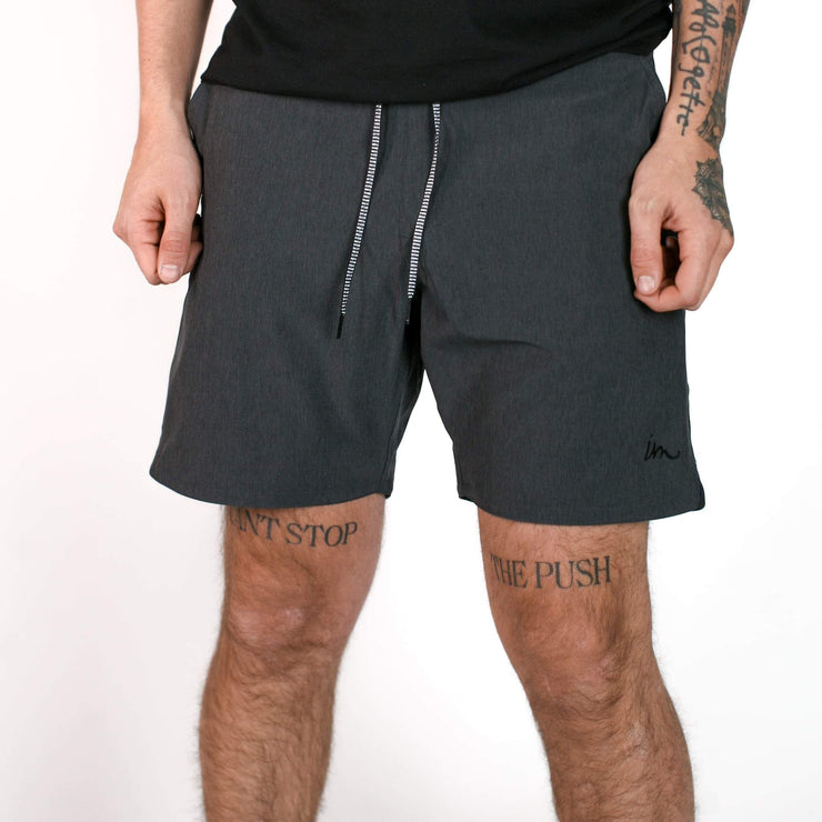 Everything Boardshort Double Black
