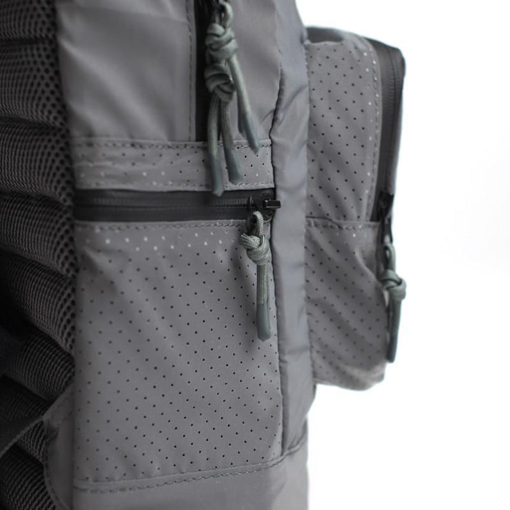 Fillmore Reflective Backpack Reflective Silver