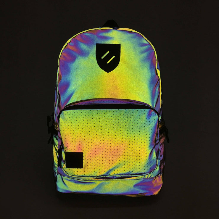 Fillmore Reflective Backpack Iridescent Reflective