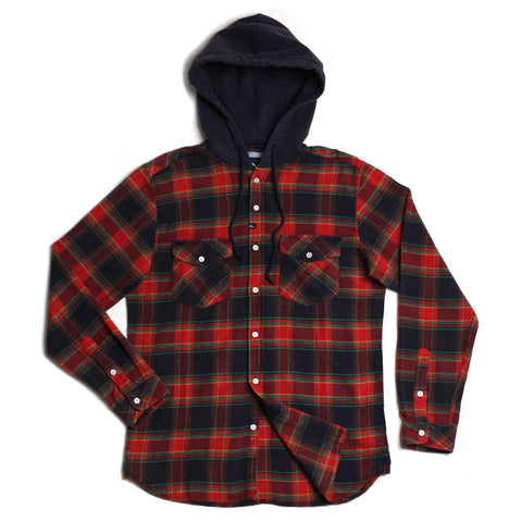 Greenwhich Hooded Flannel