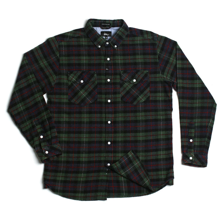 Greenwich Flannel Navy Black