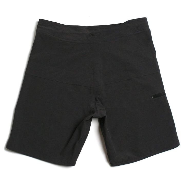 Hayworth Minimalist Boardshort Double Black