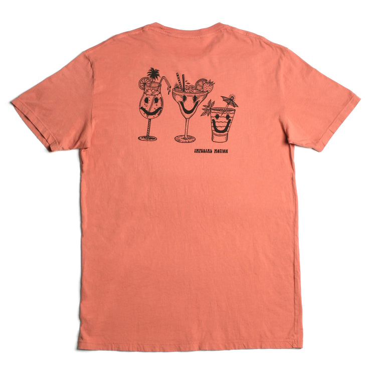 Happy Spirits Premium Pigment T-Shirt Terra Cotta