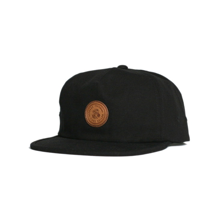 Harstine Snapback Hat Black