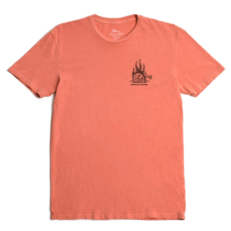 Hell Or High Water Premium Pigment T-Shirt Terra Cotta Pigment