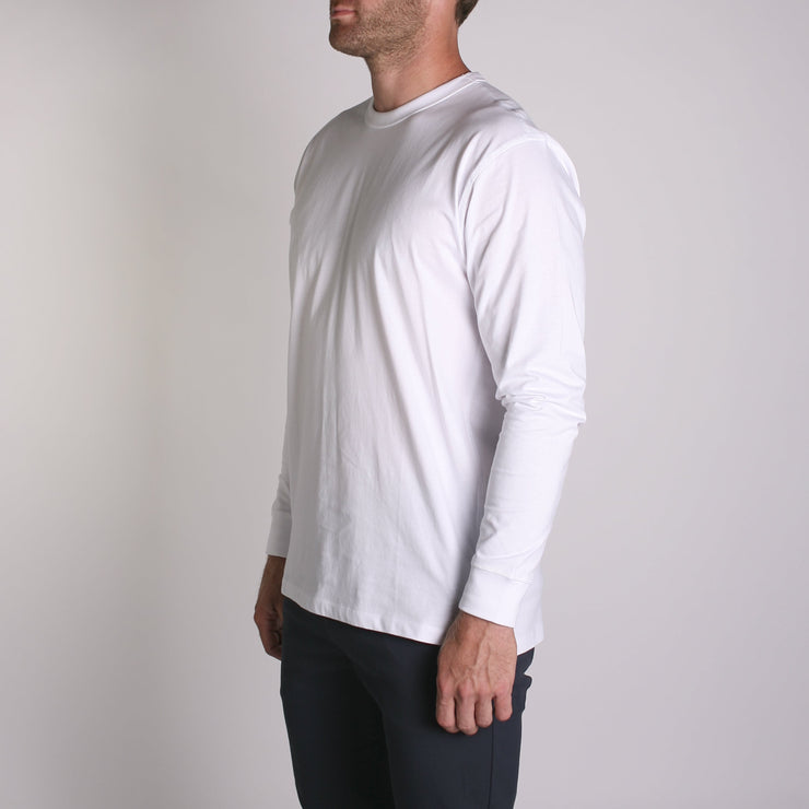 Density LS Premium T-Shirt White