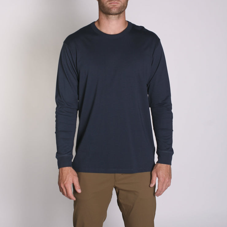 Density LS Premium T-Shirt Navy