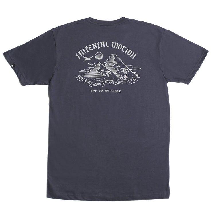 Island in the Sea Premium T-Shirt Navy