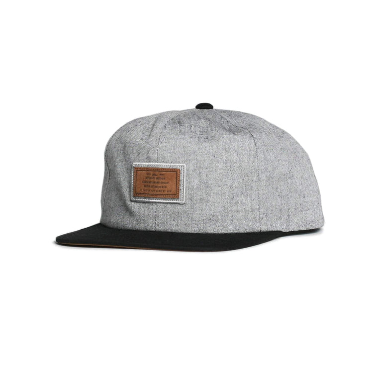 Jackpot Snapback Black Heather Black