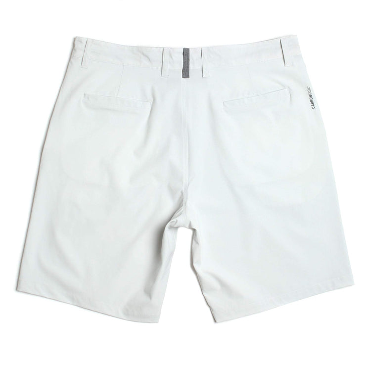 Level Hybrid Walkshort White Melange