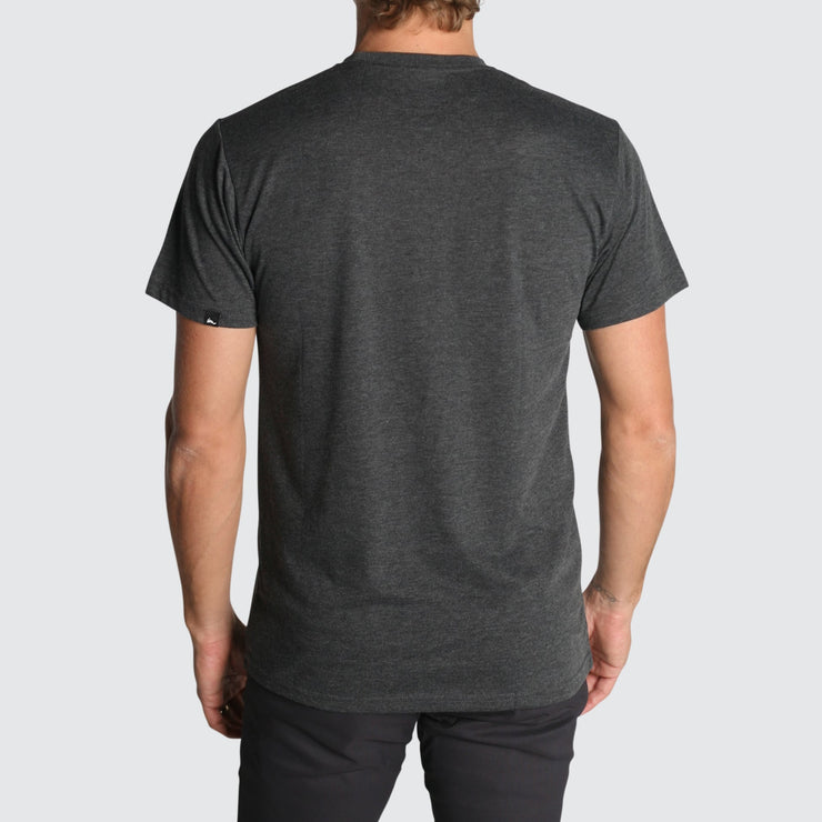 Linear Premium T-Shirt Charcoal Heather Tri-Blend