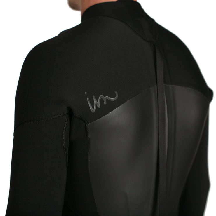 Lux Deluxe Back Zip 3/2 Black