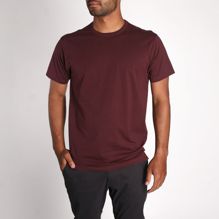 Density Premium T-Shirt Burgundy