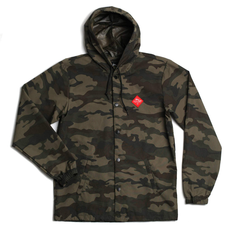 Westport Hooded Coaches Jacket Camo