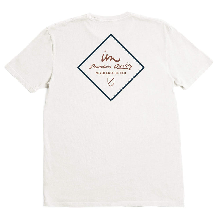 Merchant Premium Pigment T-Shirt Antique White Pigment