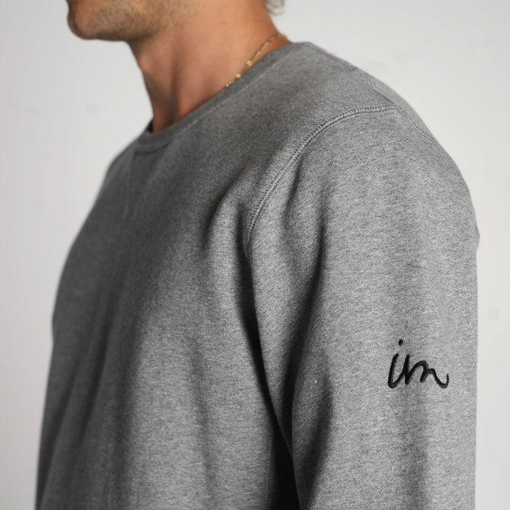 Mills Crewneck Salt & Pepper