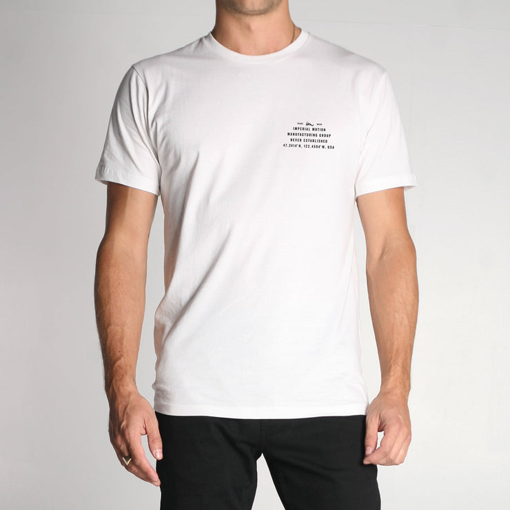 Mini Coordinated Premium T-Shirt White