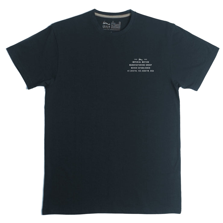 Mini Coordinated Premium T-Shirt Navy