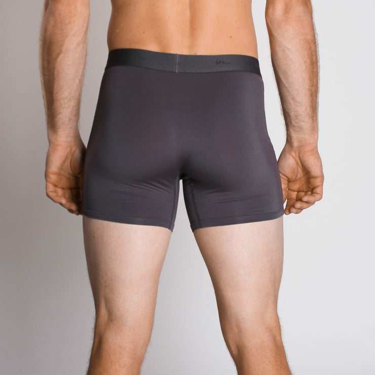 "Mode Boxer Brief 3.5"" Coal"