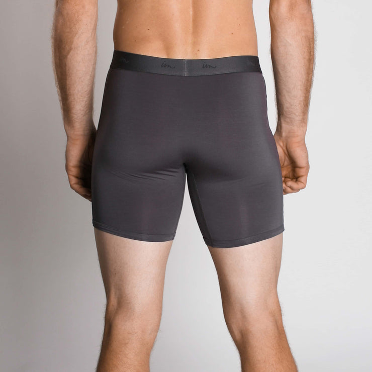 "Mode Boxer Brief 5"" Coal"
