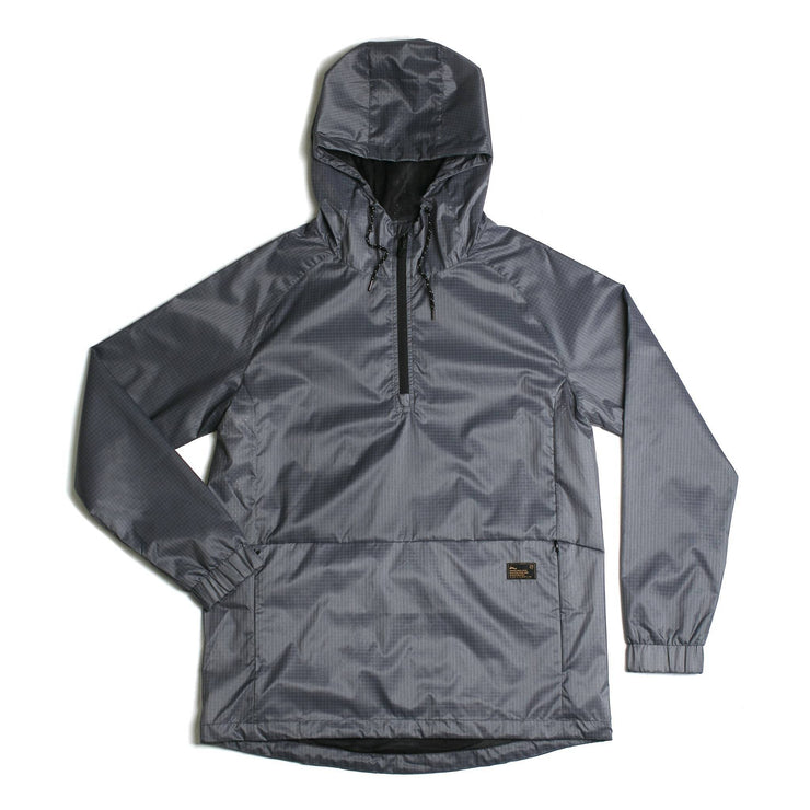 NCT Bezel Packable Anorak Jacket Asphalt