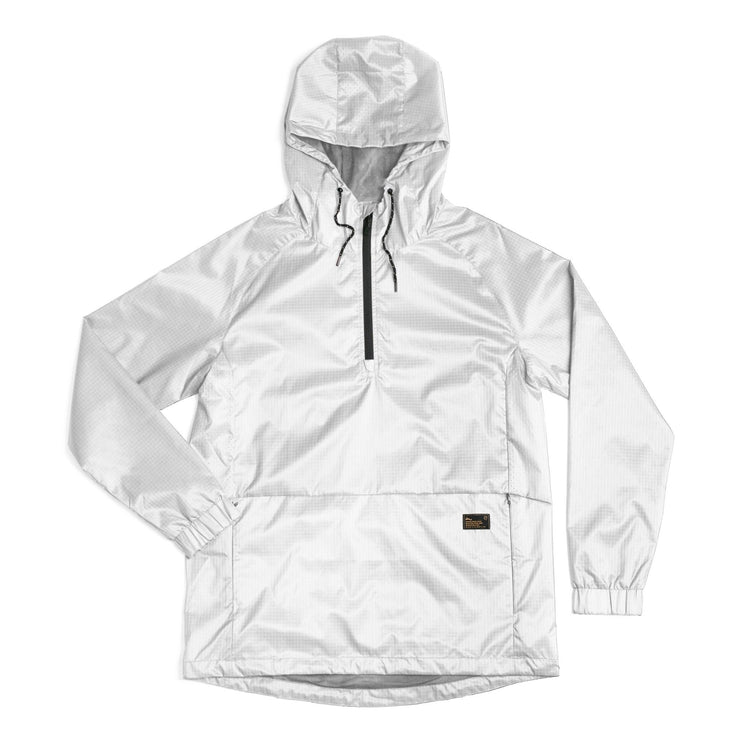 NCT Bezel Packable Anorak Jacket White