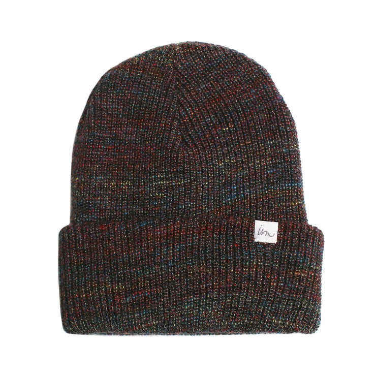 Norm Rainbow Marle Beanie Red