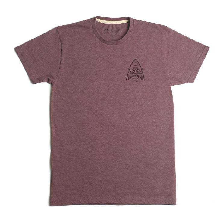 No Risk No Reward Premium T-Shirt Burgundy Heather