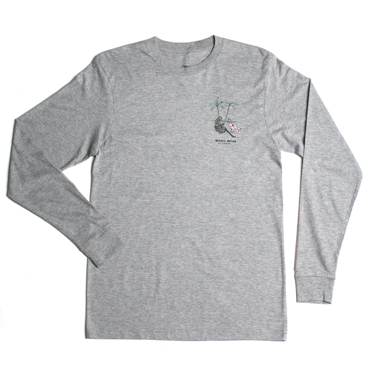 Off To Nowhere Premium LS T-Shirt Grey Heather Tri-Blend