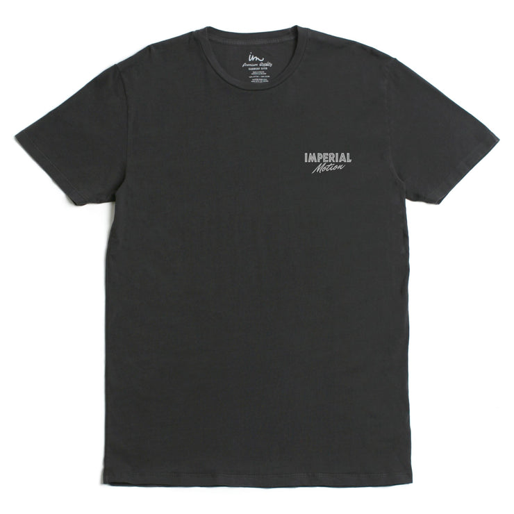 On The Rocks Premium Pigment T-Shirt Black Pigment